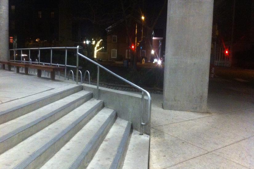 Image for skate spot Bonnell Building 6 Stair Rail