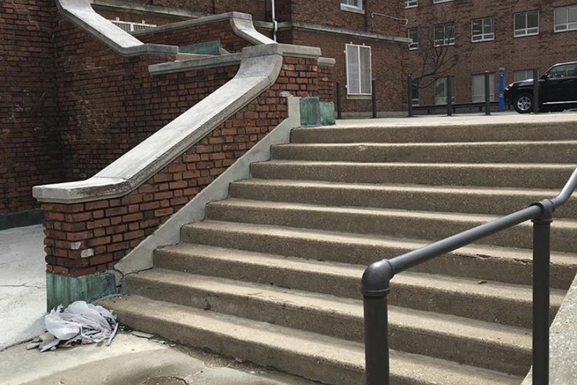 Image for skate spot Howard University 9 Stair Hubbas