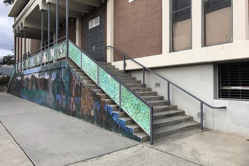Image for skate spot Over 16 Rail