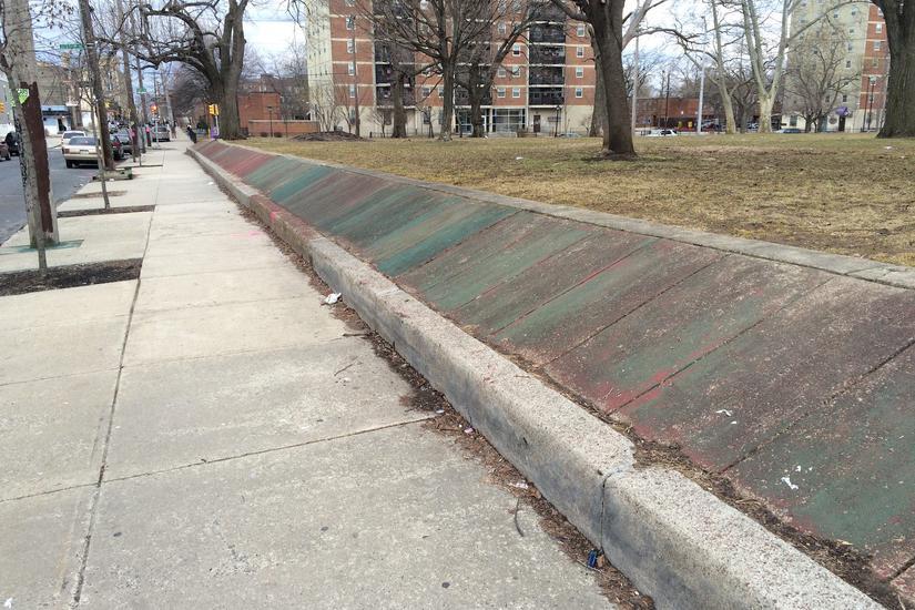 Image for skate spot Fetterall Square Banks