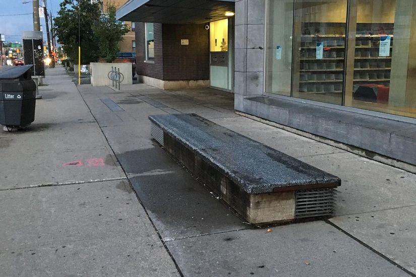 Image for skate spot Toronto Public Library Ledges