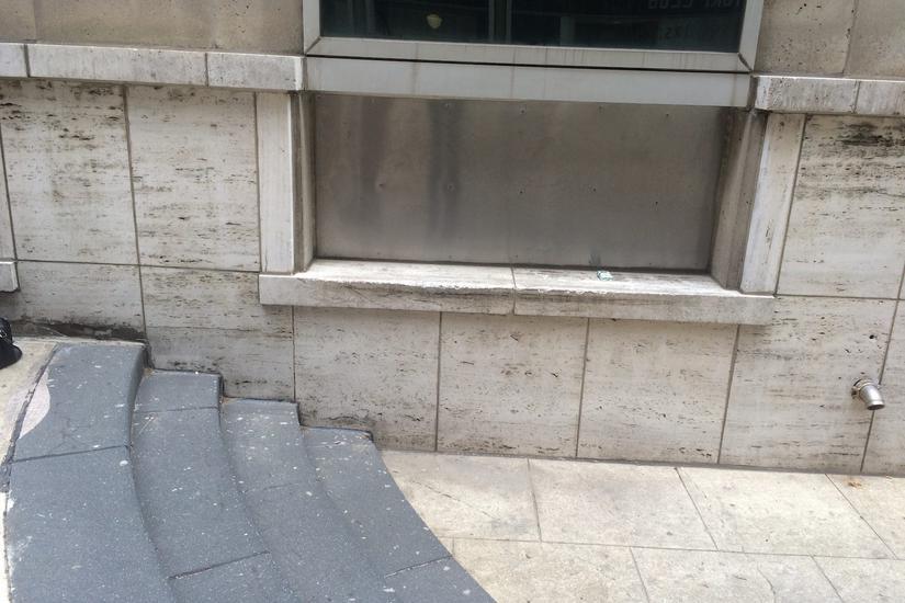 Image for skate spot White Granite Gap To Ledge
