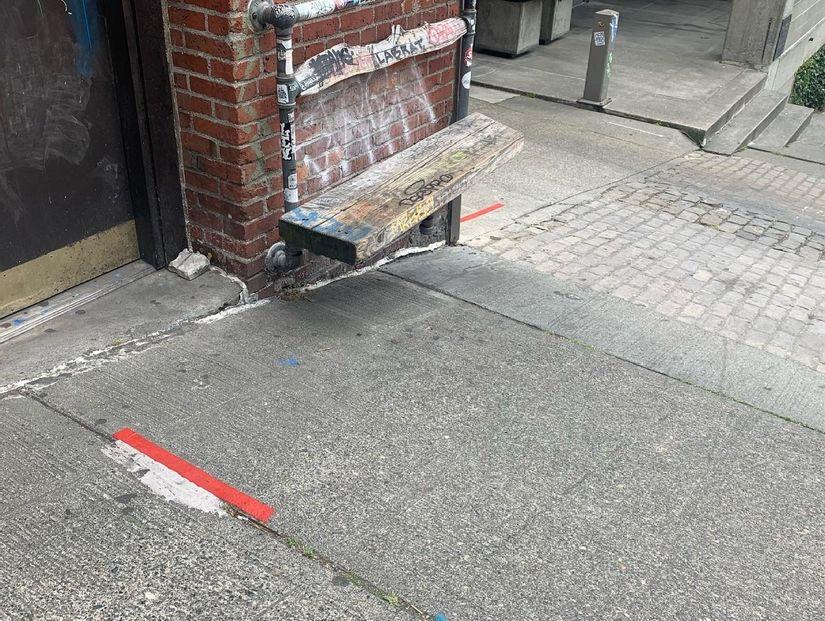 Image for skate spot Virginia Street - Ledge To Hill Bomb