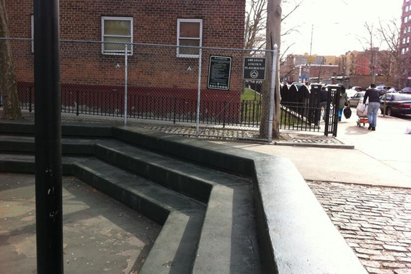 Image for skate spot Green 3 Block