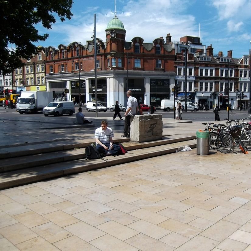 Image for skate spot St. Mathews Garden Plaza