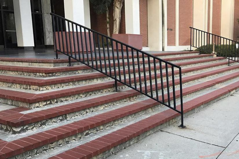 Image for skate spot Hebrew Union College 7 Stair Rail
