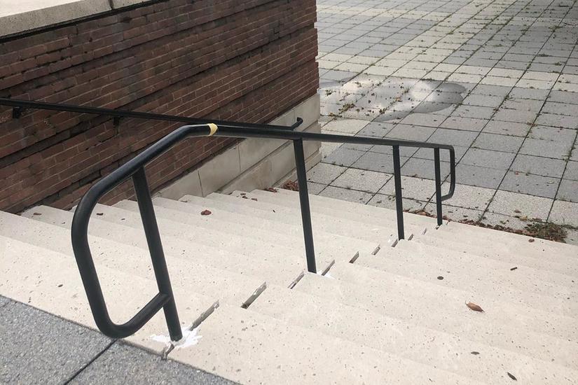 Image for skate spot Hyattsville Courthouse 11 Stair Rail