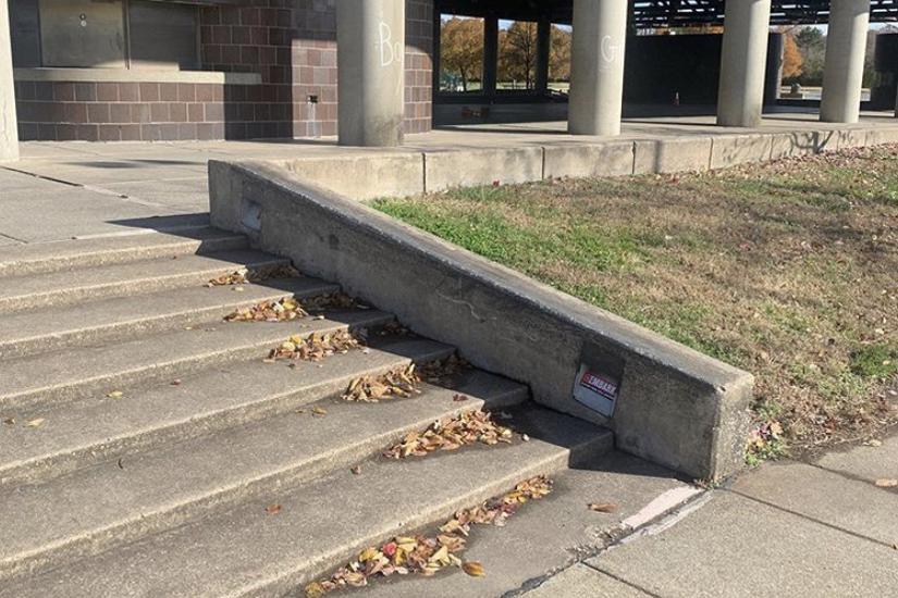 Image for skate spot Anacostia Park 7 Stair Hubbas