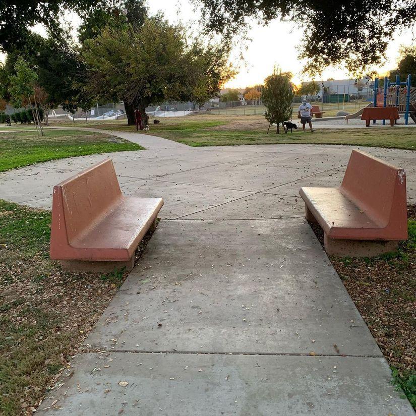 Image for skate spot Garvanza Park Benches