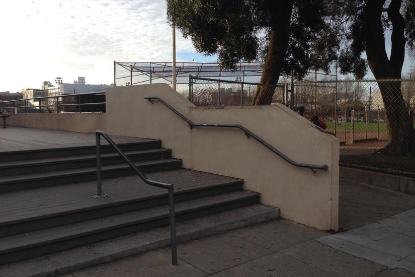 Image for skate spot 3 Flat 3 Hubba