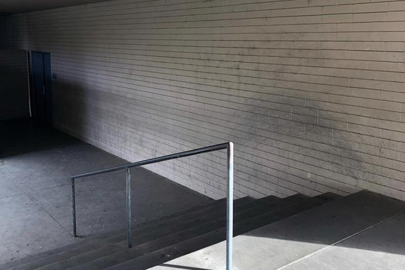 Image for skate spot Yucaipa High School 6 Stair Rail