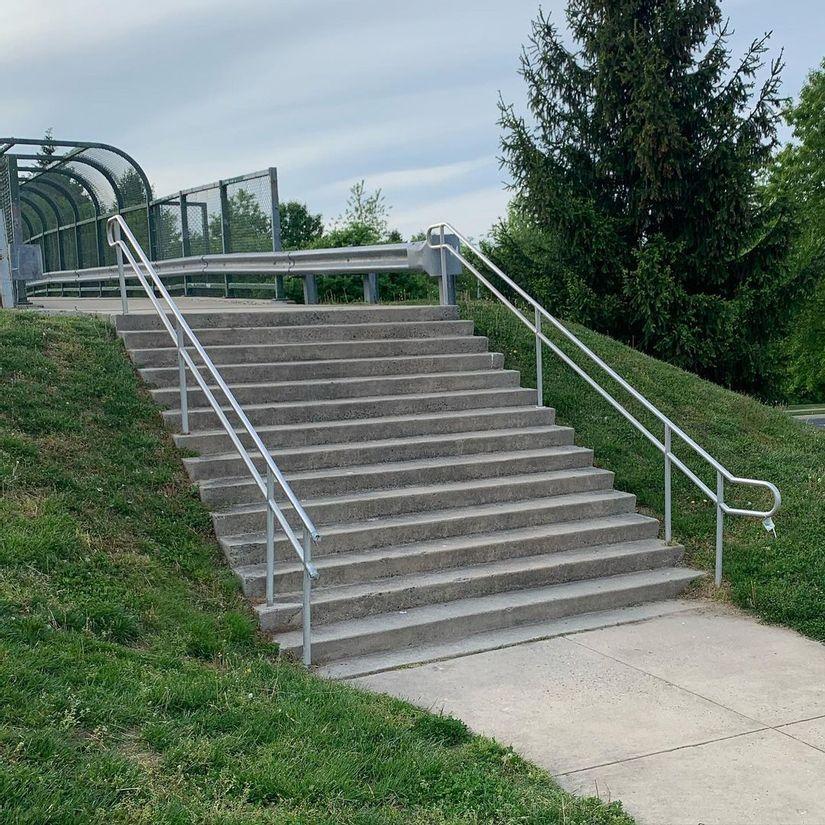 Image for skate spot Honeygo 14 Stair