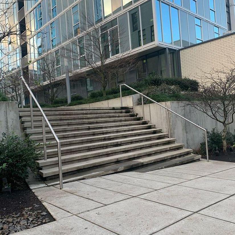 Image for skate spot Block 17 - 10 / 12 Stair
