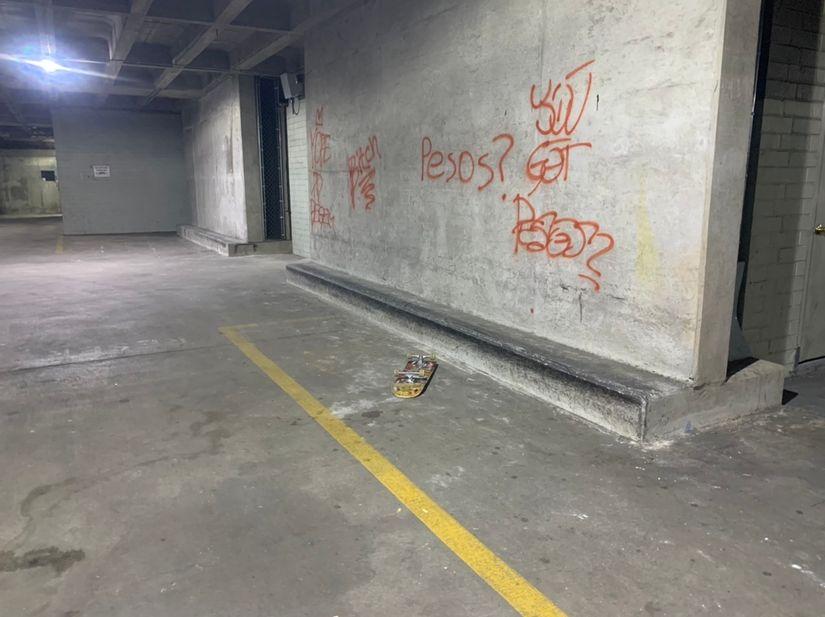 Image for skate spot Commerce Dr Parking Deck Ledges