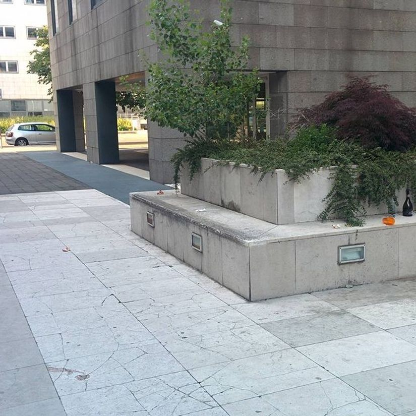 Image for skate spot Via Libero Temolo Ledge