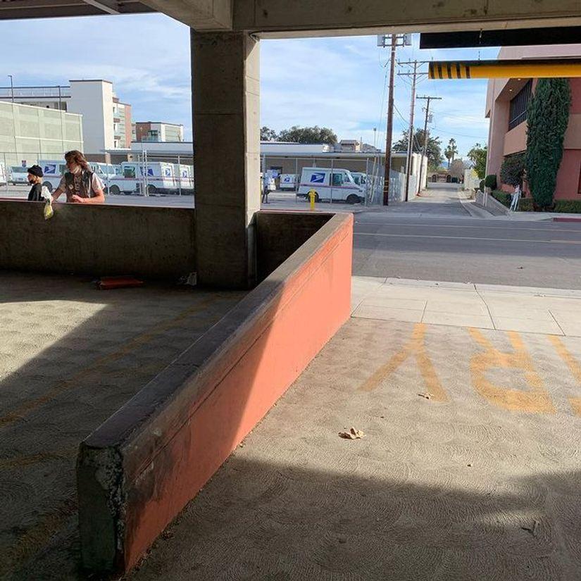 Image for skate spot Metro Station Up Ledge