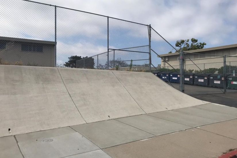 Image for skate spot Pacific View Elementary Banks
