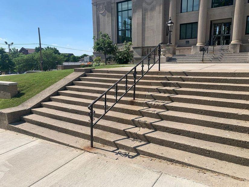 Image for skate spot Tippecanoe Arts Federation - 11 Stair Rail