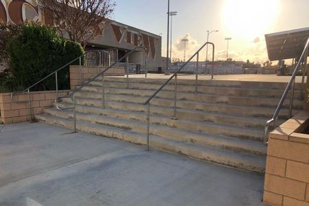 Preview image for Ocean View High School 8 Stair Rail