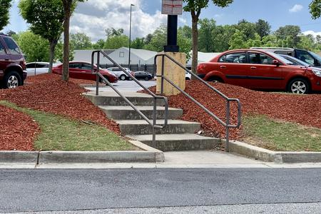 Preview image for 4 Stair Kinked Rail