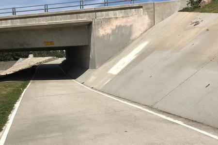 Preview image for San Diego Creek Trail Bank To Wallride