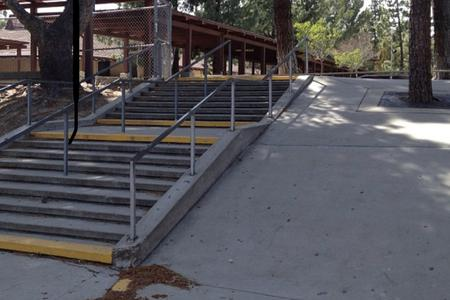 Preview image for Frost Middle School 9 Flat 9 Over Rail Into Bank