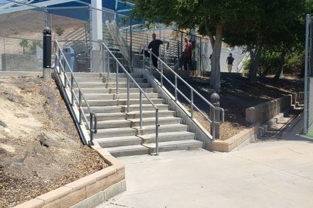 Preview image for Westlake High School 12 Stair Rail