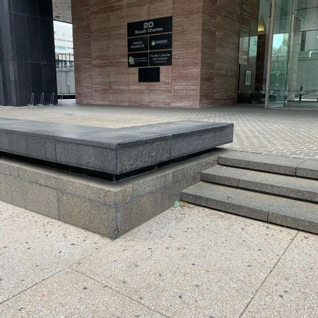 Preview image for Hopkins Plaza - 3 Stair Out Ledge