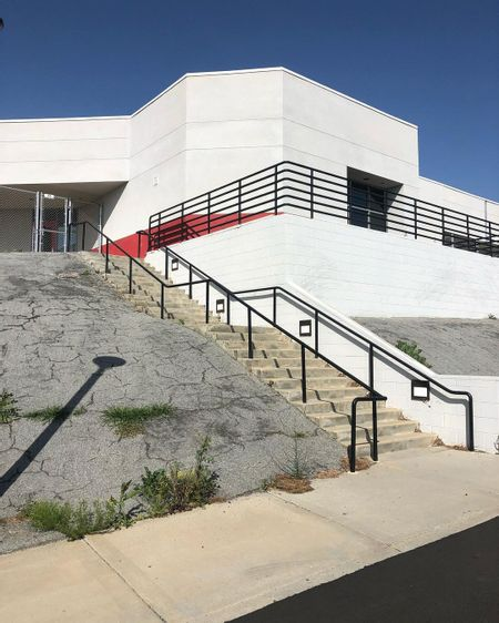 Preview image for Rancho Verde Highschool - Over Rail Into Bank