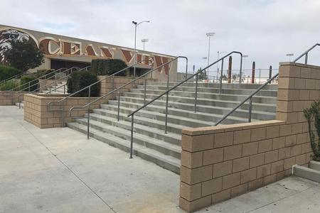 preview image for Ocean View High School 11 Stair Rail