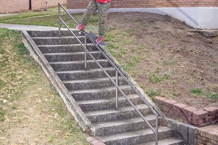 Preview image for Hutchinson Elementary 14 Stair Rail