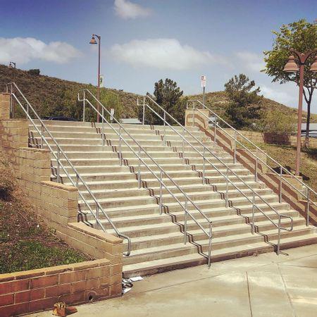 Preview image for San Juan Hills High School - 18 Stair Rail