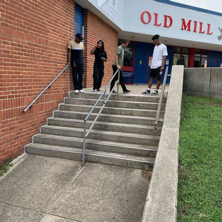 Preview image for Old Mill Senior High School - 8 Stair Rail