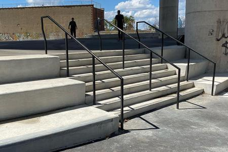 Preview image for Koscuiuszko 8 Stair Rail
