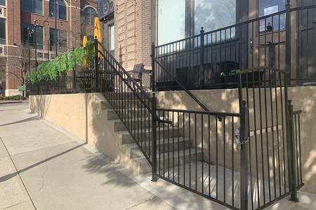 Preview image for 7 Stair Gap Over Rail