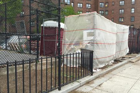 Preview image for Tennis Court Gap Over Fence