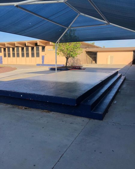 Preview image for Kennedy Middle School - 3 Stair Manny Pad / Ledges