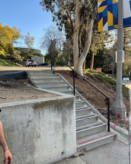 Preview image for UC Riverside - Lot 8 11 Stair Rail
