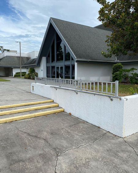 Preview image for Conway United Methodist Church - 3 Stair Out Rails