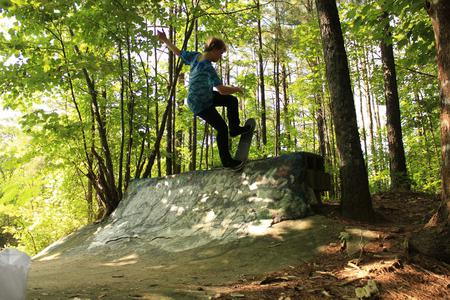 preview image for Quarter Pipe In The Woods (Nazdar)