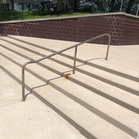 Preview image for Bridgeway Academy Primary School - 5 Stair Kink Rail