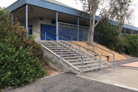 preview image for Muirlands Middle School 14 Stair Rail