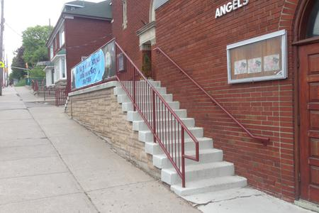 Preview image for Angels Church 11 Stair Rail
