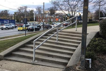 Preview image for Morgan State University Curved 10 Stair Rail