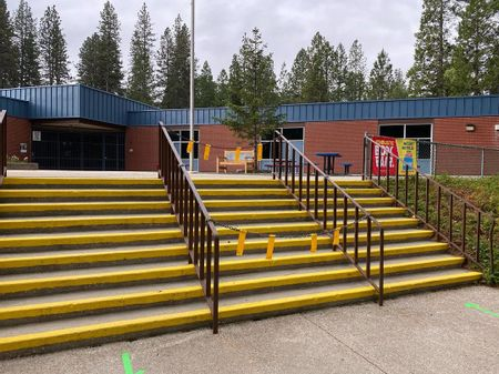 Preview image for Seven Hills Middle School - 9 Stair Rails