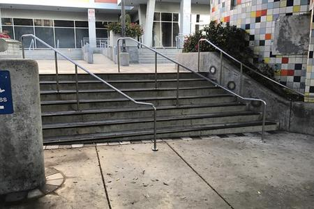 preview image for 8 Stair Gap Over Rail