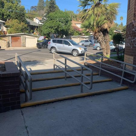 Preview image for Highland Park Recreation Center Long 4 Stair Rail