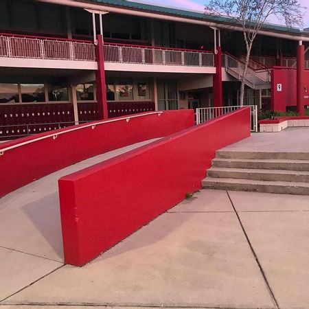 Preview image for Dunedin High School - 4 Stair Hubba / Out Ledge
