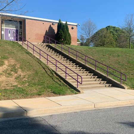 Preview image for Loch Raven Technical Academy - 24 Stair Rail