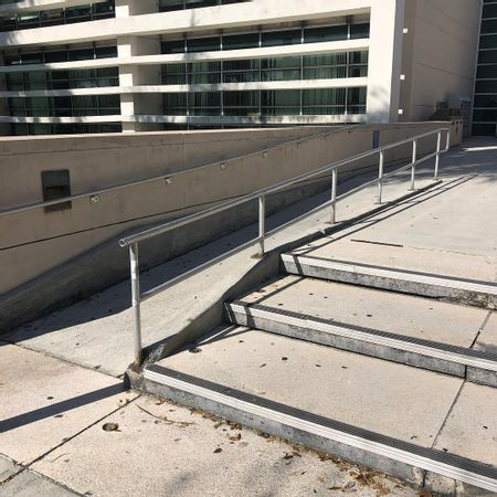 Preview image for FAU - Wimberly Library 3 Stair Out Rail